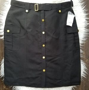 New Calvin Klein linen skirt
